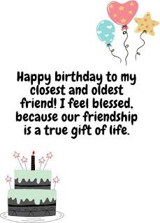 happy birthday wishes for bestie