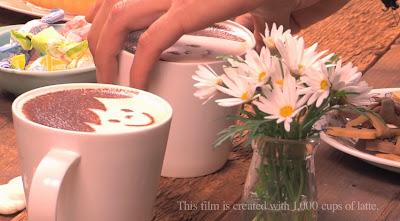 Café latte, Historias contadas, Como hacer un cortometraje, Creatividad, cortometraje divertido, historias románticas,