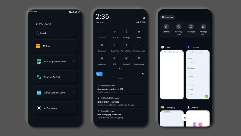 Best Dark Theme for Xiaomi Devices 2020