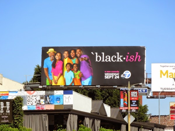 Black-ish premiere billboard