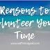 Reasons to Volunteer Your Time