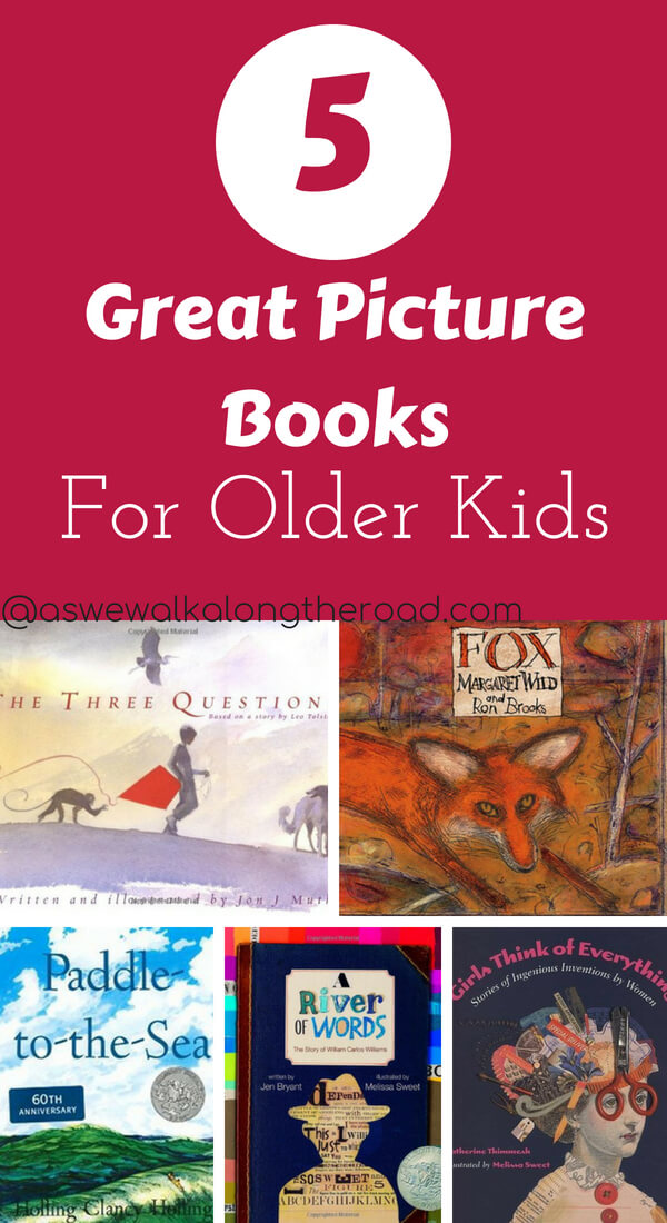 Picture books for older kids