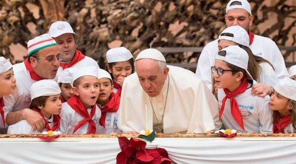 Papa Francisco celebra su 83° cumpleaños