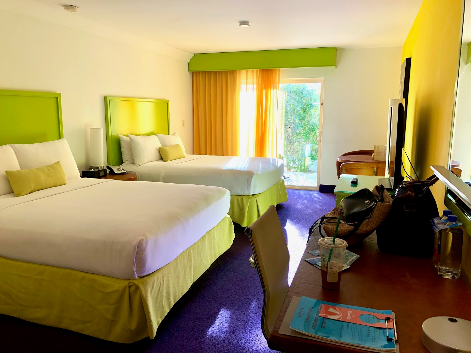 The Saguaro Palm Springs Hotel Room Review
