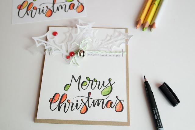 Merry Christmas card di kushi per koh-i-noor