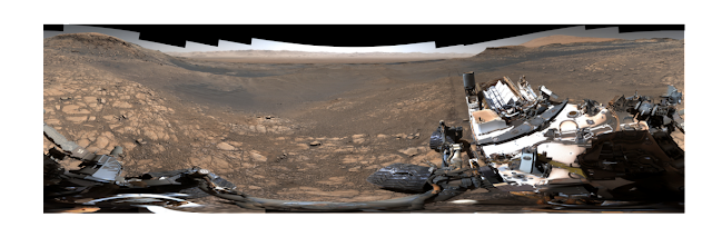 panorama de Marte