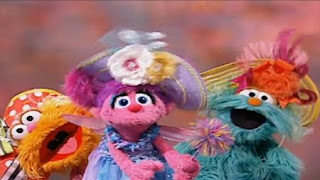 Rosita, Abby Cadabby and Zoe sing Because We're Friends. Sesame Street Preschool is Cool Making Friends