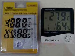 Darmatek Jual Constant HT100 Thermohygrometer