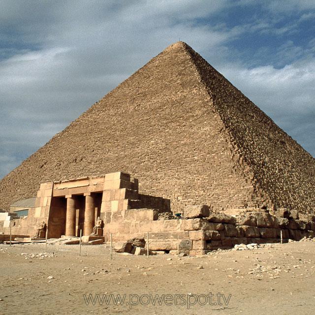 エジプト、ギザの大ピラミッド 1993.12撮影