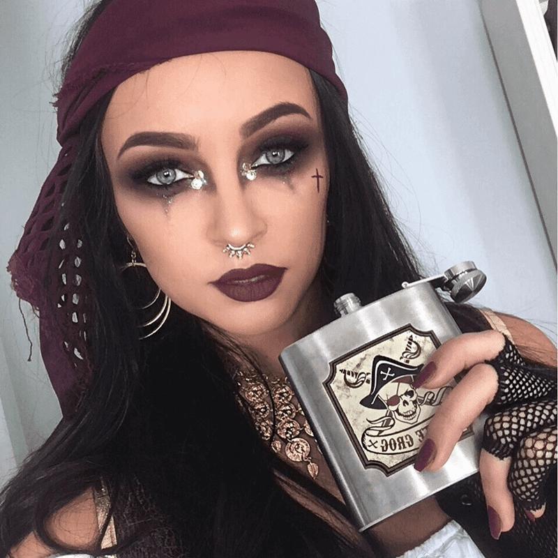 Maquiagem Pirata Halloween