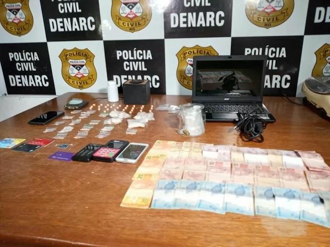 Maior traficante de droga sintética é preso em condomínio de luxo em Porto Velho