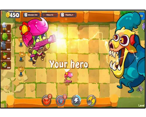 لعبة Fruit vs Monster