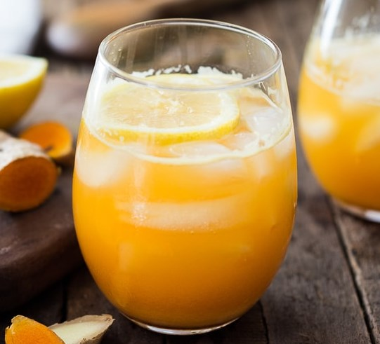 TURMERIC GINGERADE #drinks #healthy
