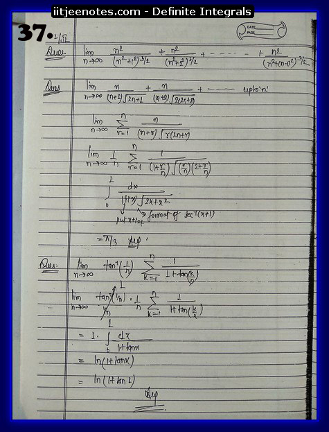 definite integrals class 12-8