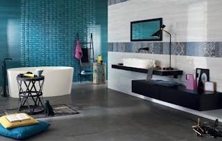 cuarto baño moderno elegante