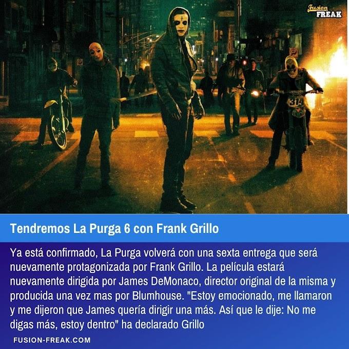 Tendremos La Purga 6 con Frank Grillo
