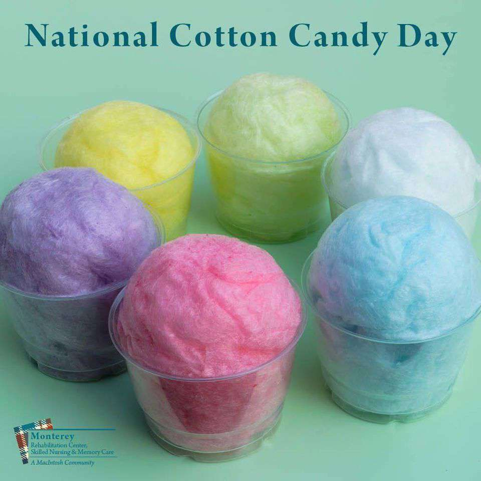 National Cotton Candy Day Wishes Awesome Picture
