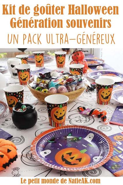 avis Kit goûter Halloween Generation souvenirs