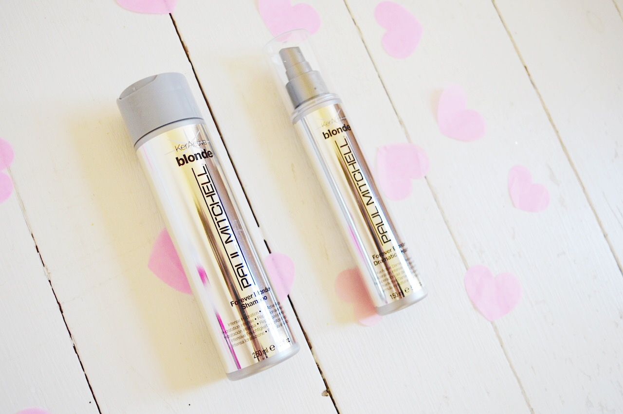 Paul Mitchell Forever Blonde Shampoo & Dramatic Repair Review, FashionFake blog, beauty bloggers, UK beauty blog