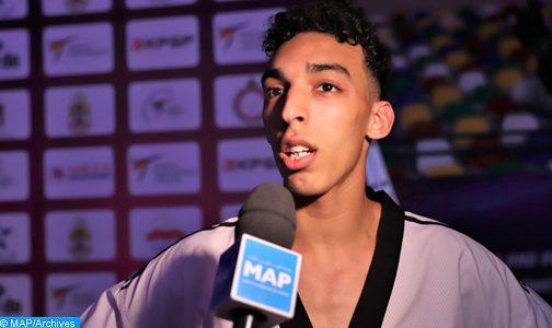 """الدوري الدولي """"جي وان"""" للتايكواندو (إسبانيا 2021): المغربي أشرف محبوبي يحرز ذهبية وزن أقل من 80 كلغ"""