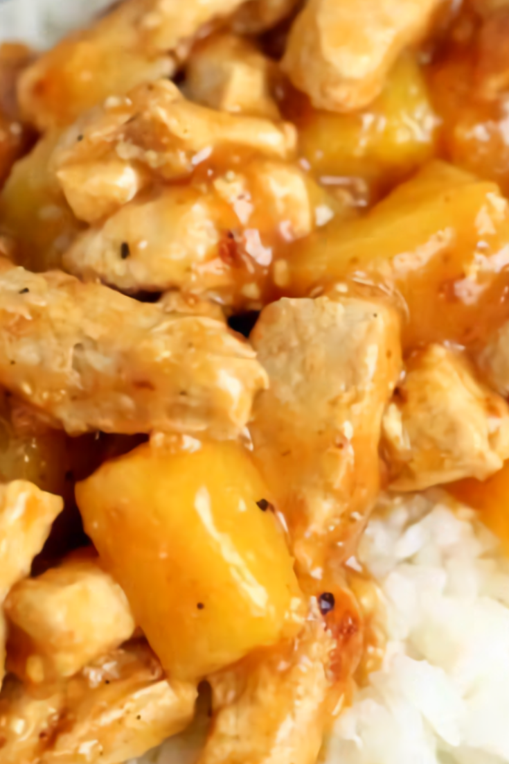 Easy Aloha Pineapple Chicken
