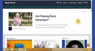 Pengalaman Pertama Rapi Serui Mendapatkan Iklan Google Adsense