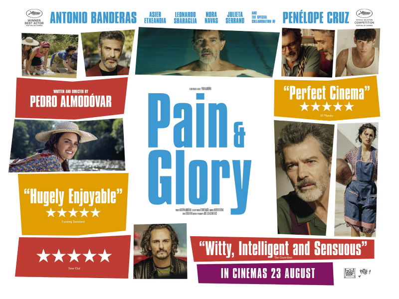 pain and glory uk poster