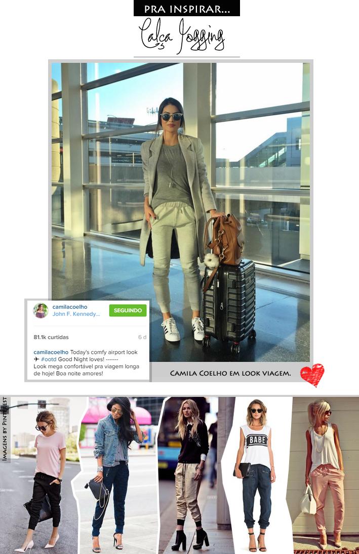 Blog da Jana, Camila Coelho, Joinville, Blogueira, esporte, chique, fashion, style, Calça Jogging