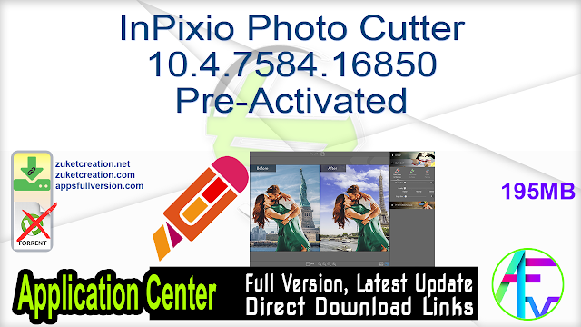 InPixio Photo Cutter 10.4.7584.16850 Pre-Activated