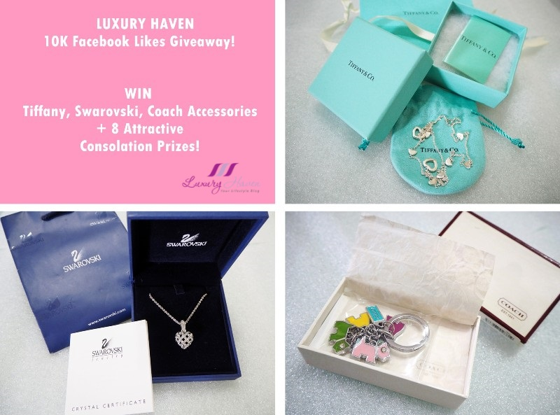 Win Tiffany, Swarovski & Coach Accessories!