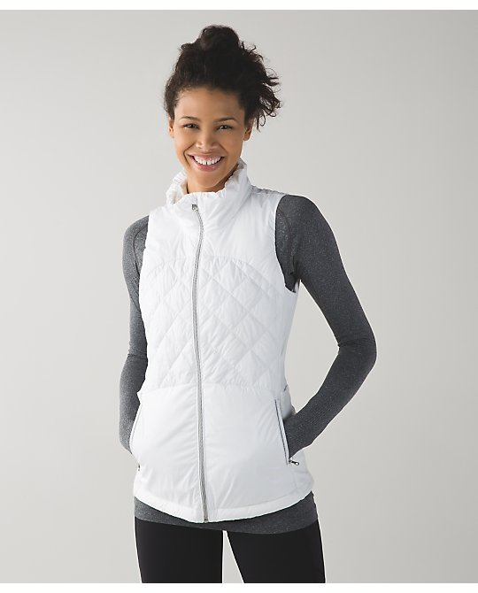 lululemon down-for-a-run-vest white