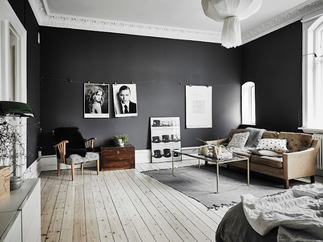 Elegant Black Walls 8