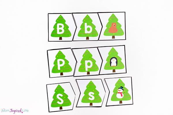 Alphabet Letter Matching Clip Cards (Groß- und Kleinschreibung)  Alphabet Letter Matching Clip Cards (Groß- und Kleinschreibung)