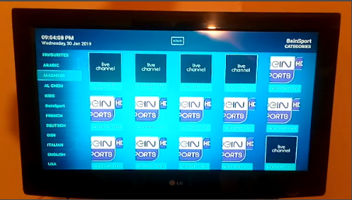 تشغيل تلفاز IPTV تطبيق اندرويد مع كود تفعيل Play IPTV TV Android