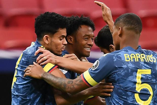 Colombia vs. Chile EN VIVO vía Caracol TV por Eliminatorias