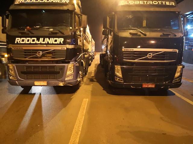 Rio Verde: Carretas com placas e chassi idênticos são apreendidas pela Polícia