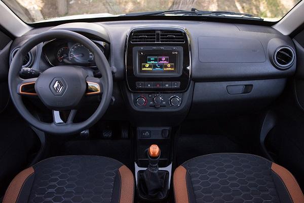 Renault Kwid Outsider Interior