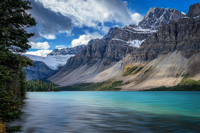 Image Attribute: Bow Lake (Western Alberta, Canada), Image by Jörg Vieli from Pixabay