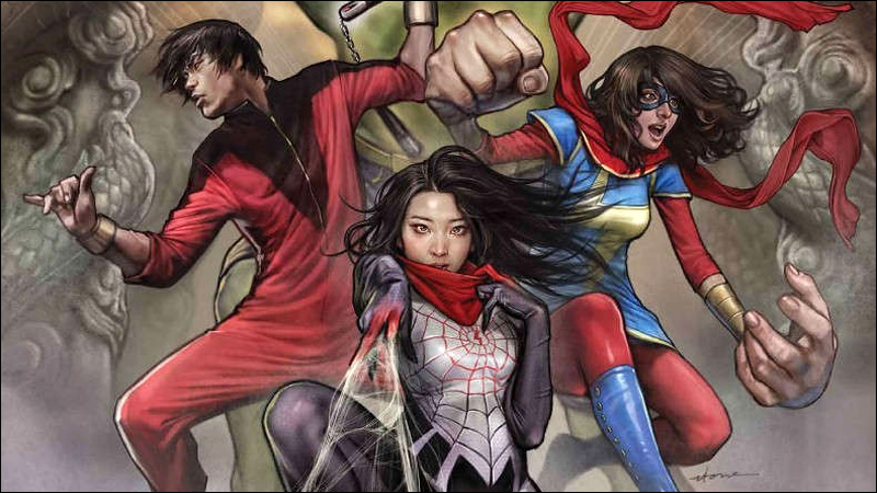 Marvel's Most Epic Asian American Superhero Team-Up Ever
