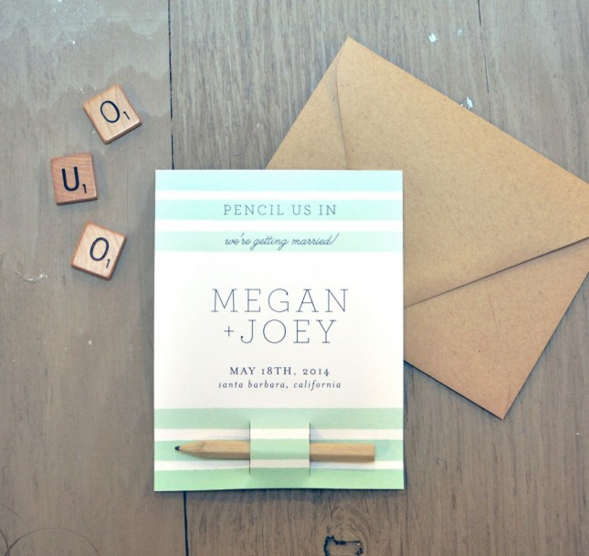 23 Creative Diy Save The Dates Your Guests Will Love Do It