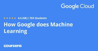 [Coursera] How Google does Machine Learning