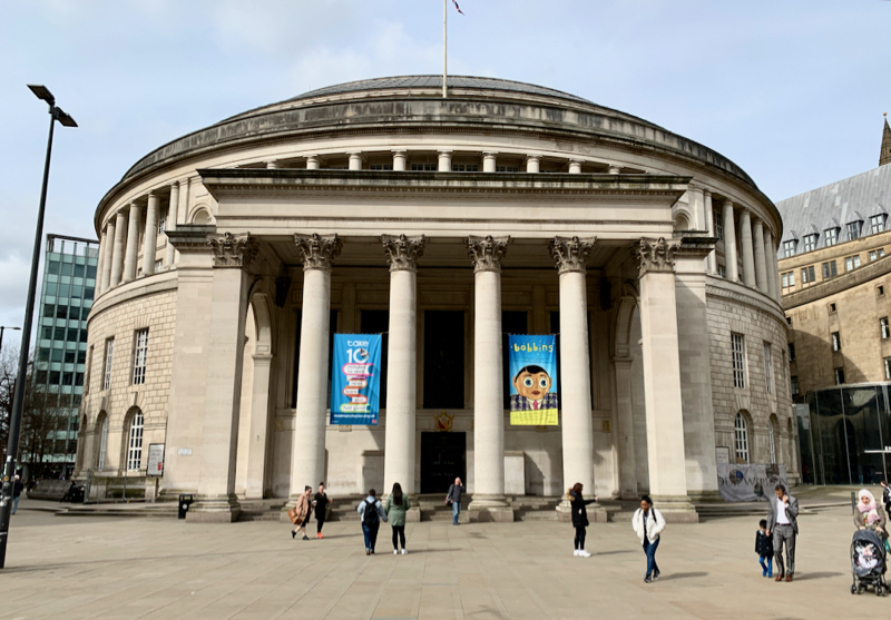 Manchester Library - How to spend a day in Manchester