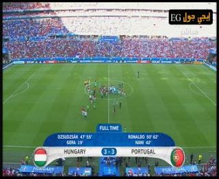 اهداف مباراة البرتغال 3-3 المجر | يورو 2016