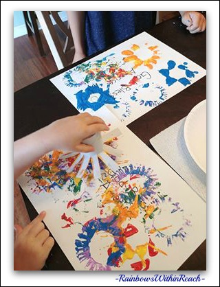 Painting Process with Young Children