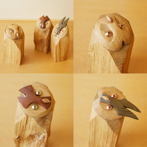 My Owl Barn Owl Wooden Goodies From Japan