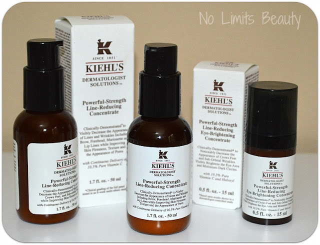 Kiehl's: Powerful Strenght Line Reducing Concentrate (serum y contorno de ojos) - review