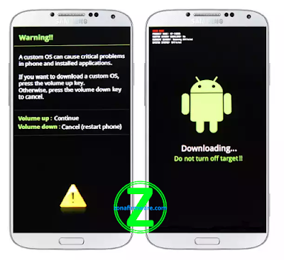 Cara Flash Samsung Galaxy Note 3 Neo SM-N750