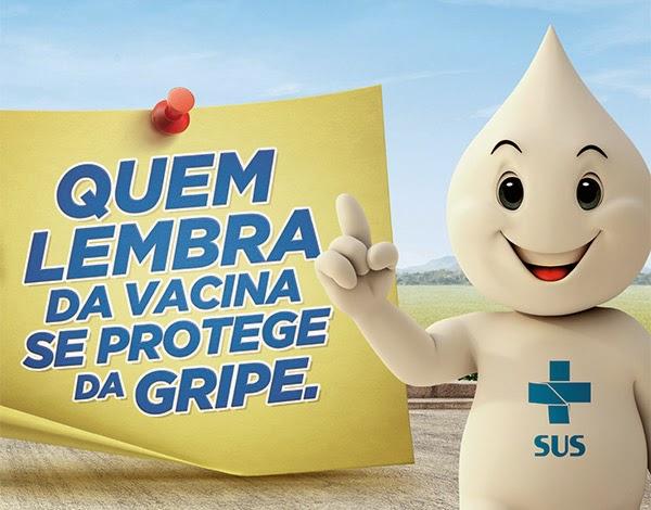 Campanha nacional de vacinação contra a gripe - Iguape
