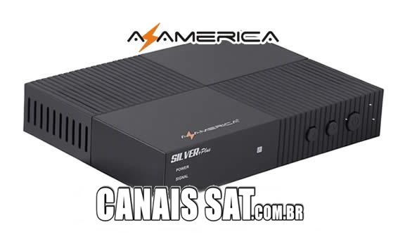 Azamerica Silver + Plus Nova Atualização V1.11 - 14/05/2020