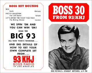 KHJ Boss 30 No. 78 - Johnny Mitchell